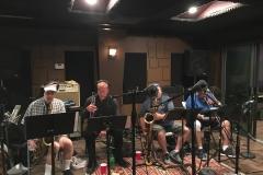 Briefcase Blues Recording Brass 2