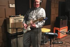 Jeff of CCA tracking high energy riffs!