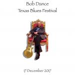 Bob Dance TX Blues Festival 2017 Cover