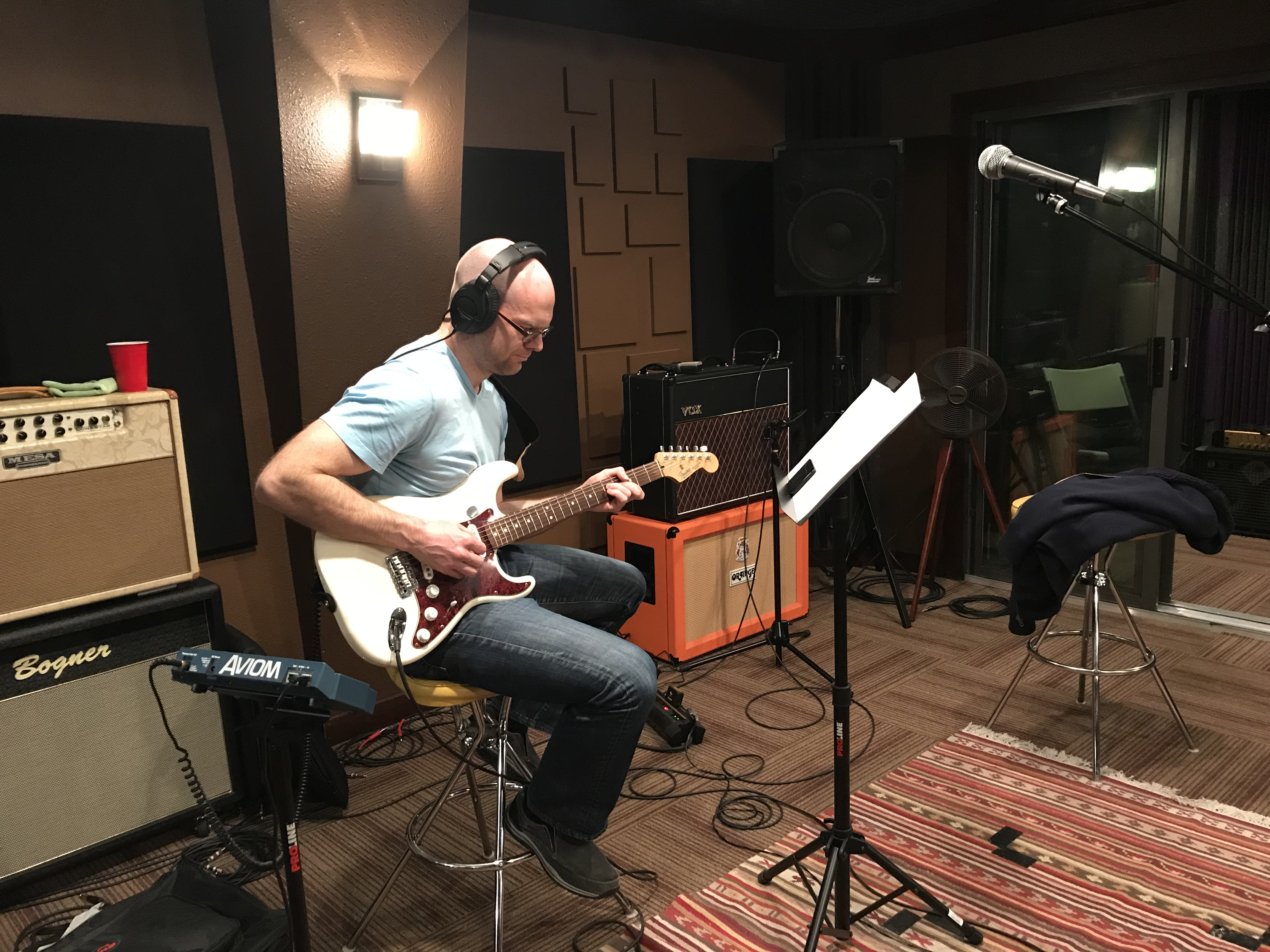 Andy Roller Tracking Guitar 2018