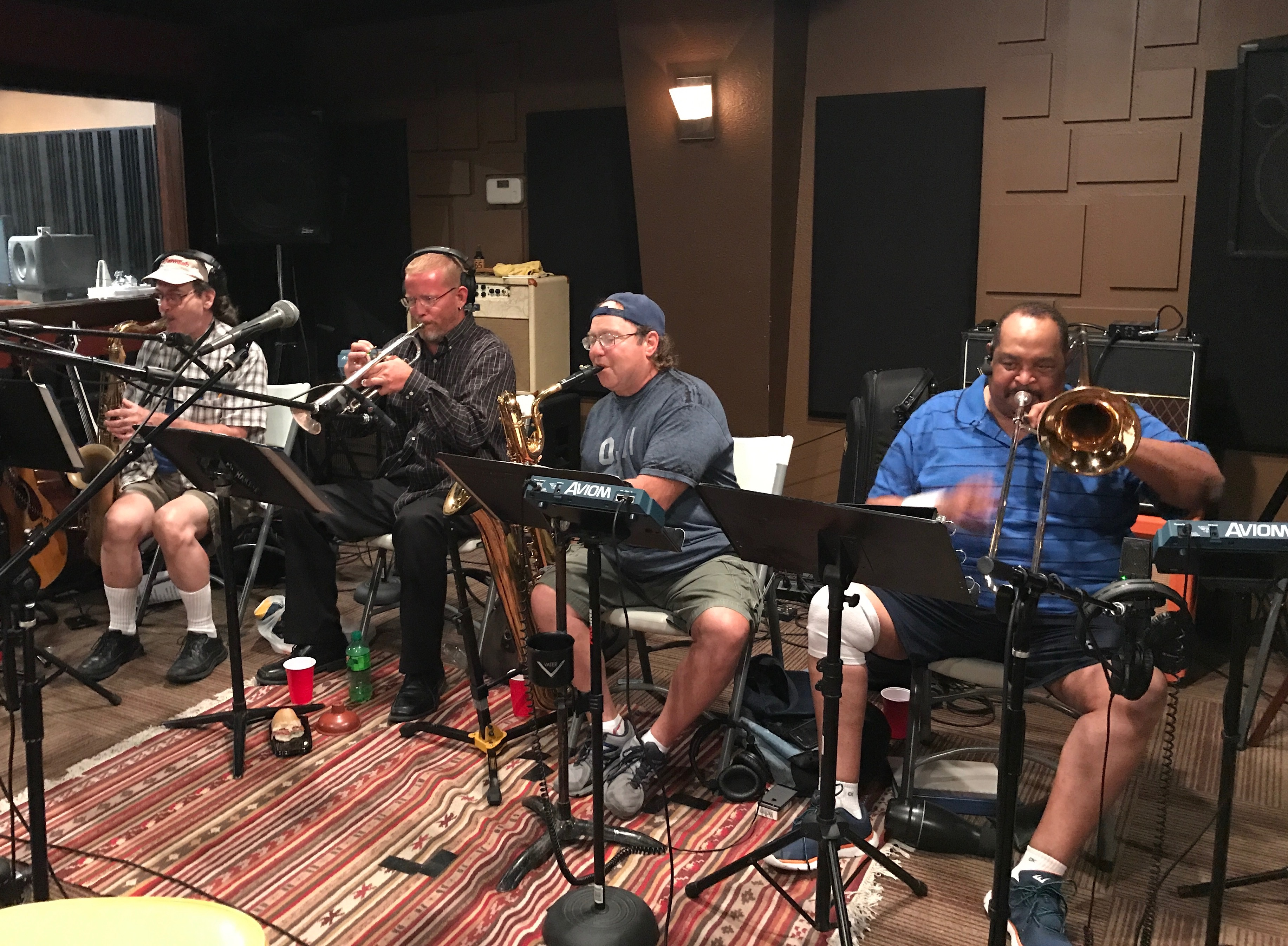 Recording Briefcase Blues Brass 2017
