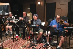 Recording Briefcase Blues Brass 2017