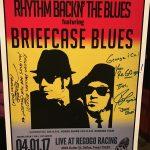 Breifcase Blues RR Show Poster